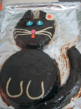 עוגת יום הולדת שנתיים לגן