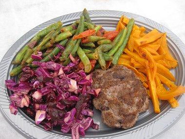 הארוחה האמריקאית והצבעונית שלנו