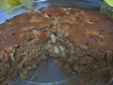 עוגת תפוחים ודבש