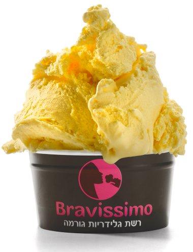 גלידת עוגת פירות יבשים אנגלית של ברוויסימו