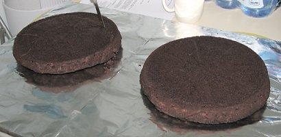העוגות, לפני חיתוך וציפוי