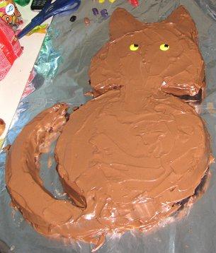 ציפוי העוגה