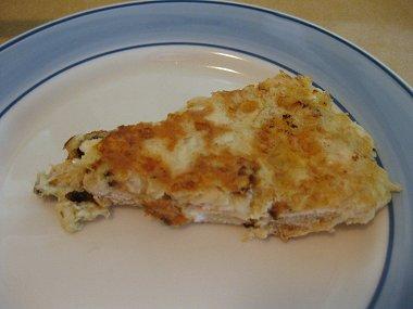 פרוסת מצה בריי עם גבינות