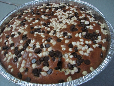 עוגת שוקולד צ'יפס, תפוזים וקוקוס