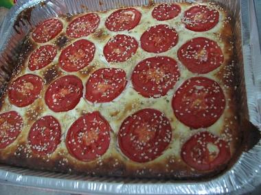 פשטידת קישואים ועגבניות