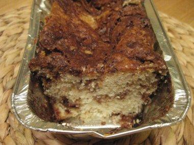עוגת חטיפי מקופלת