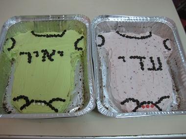 העוגות המקושטות