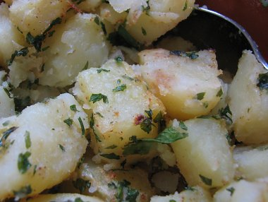 תפוחי אדמה בפטרוזיליה