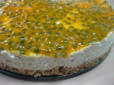 עוגת גבינה ופסיפלורה, קצת יותר מקרוב