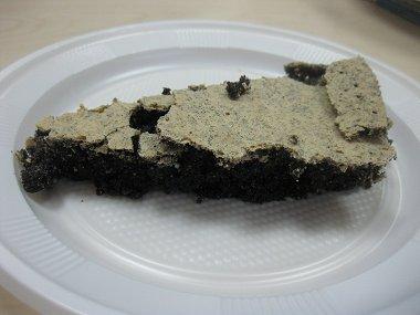 פרוסת עוגת פרג