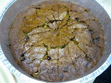 עוגת דלעת, שוקולד צ'יפס ואגוזי מלך