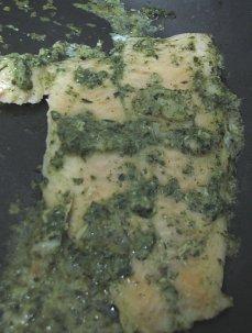 דג סול בעשבי תיבול ופרמזן