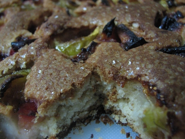 עוגת פירות קיץ-קלוז אפ