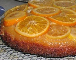 עוגת הדרים הפוכה - מבט מקרוב
