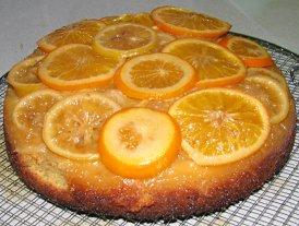 עוגת הדרים הפוכה
