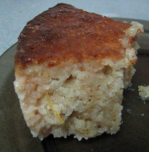 עוגת יוגורט ואשכולית אדומה